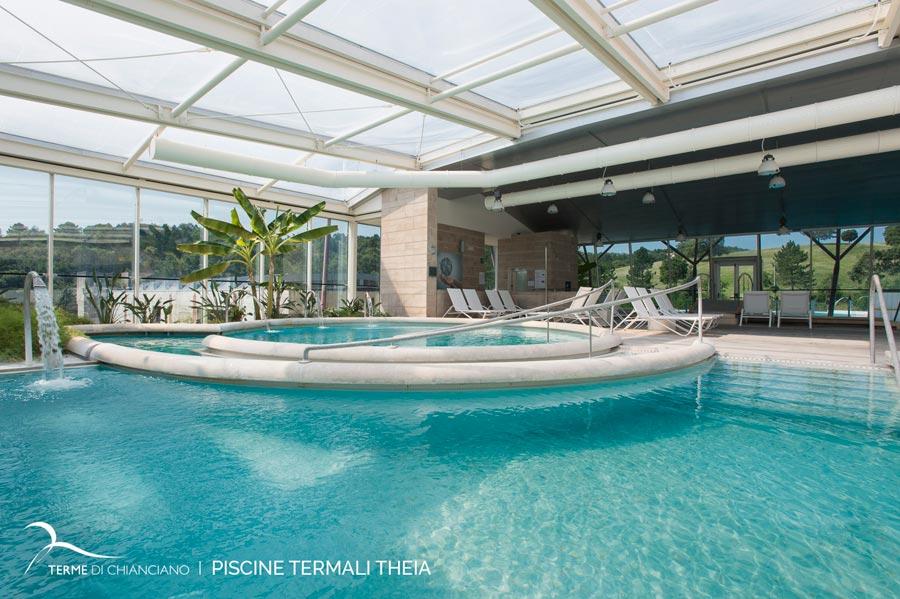 Le nuove piscine termali theia a chianciano terme - Piscine theia chianciano ...